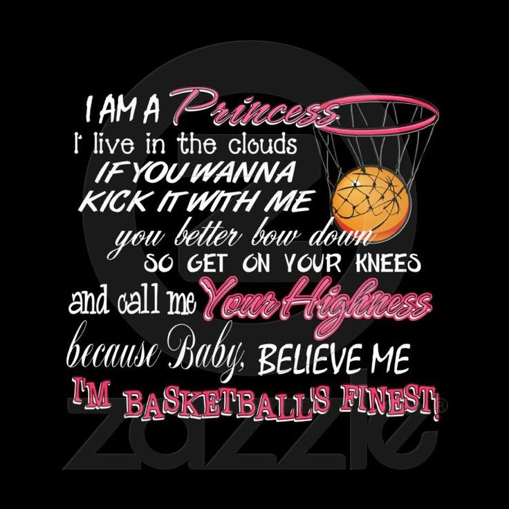 I love girls basketball! I am girls basketball!
