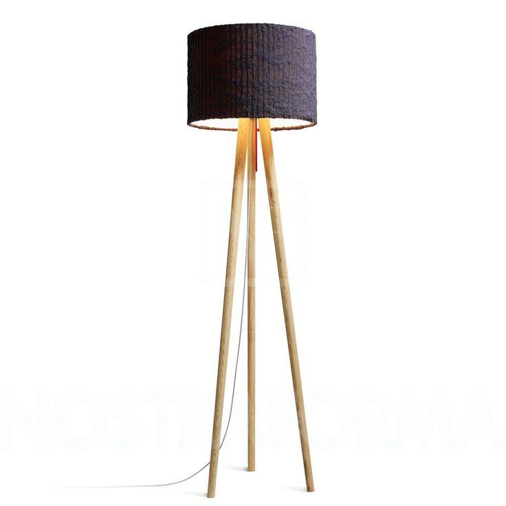 Simple Domus Sten Cloud Stehleuchte Wei eiche NOSTRAFORMA Design Shop f r Leuchten u Lampen