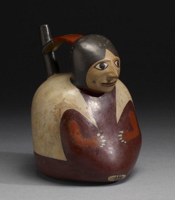 • Nazca (Artist)    Period AD 1-650 (Early Intermediate)   Medium earthenware with polychrome