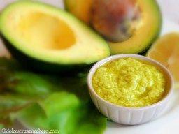 Maionese di Avocado (Ig Basso, Vegan e Raw)   Dolce Senza Zucchero