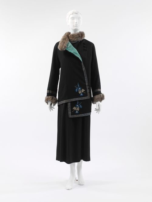 Poiret, c. 1912.... I want this jacket.....