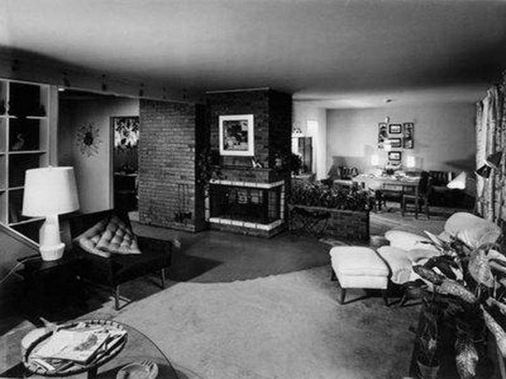 indoor of 1950s homes
