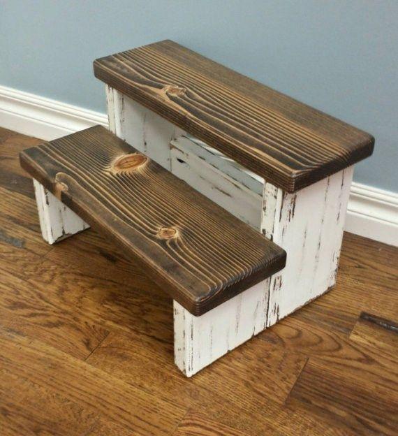 Farmhouse Step Stool & The 25+ best Bathroom stools ideas on Pinterest | Bathroom styling ... islam-shia.org