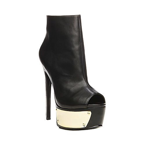 Steve Madden Sloann in Black Gold