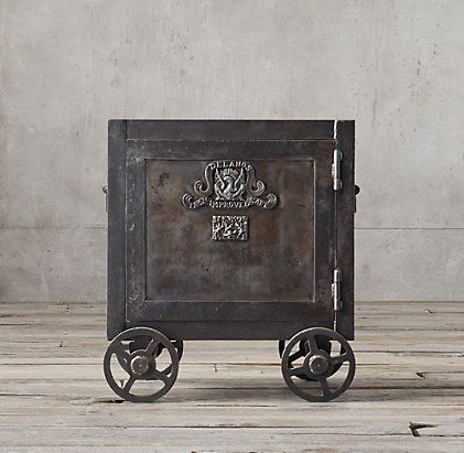 172 best my style images on pinterest car interiors garage ideas and cars - Restoration hardware entry table ...
