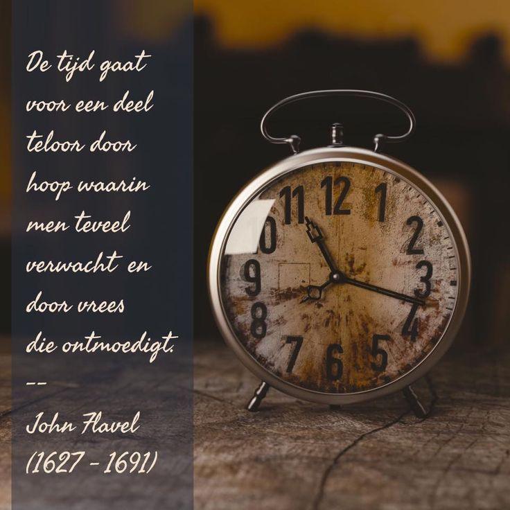 Het teloorgaan van de tijd - John Flavel (1627 – 1691)