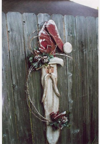 Santa wood craft patterns woodworking projects plans for Country christmas craft show
