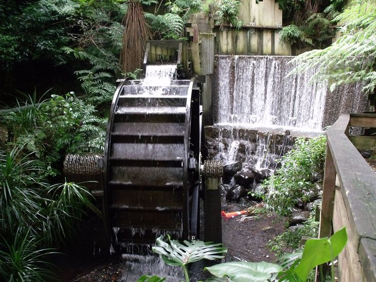 Pukekura Park, New Plymouth, NZ - the Waterwheel just past the kids playground area - a hidden gem :)