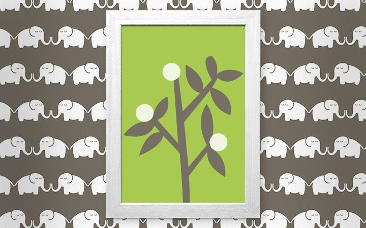 Bild Elephants, for him - Designer Tapeten DecorPlay