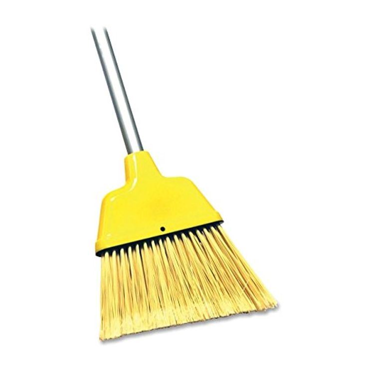 Genuine Joe Angle Broom, Features High Performance Bristles To Provide  Cleaning Action.