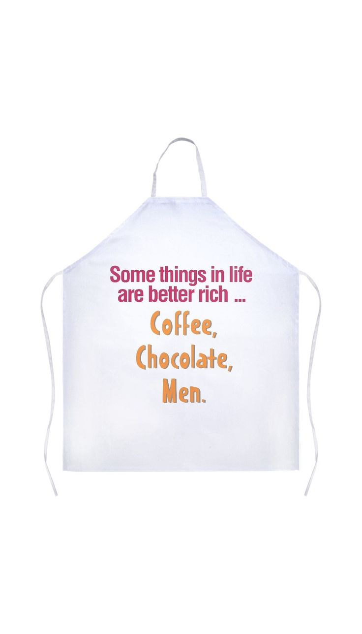 Some Things In Life Are Better Rich White Apron | Sarcastic Me – Sarcastic ME