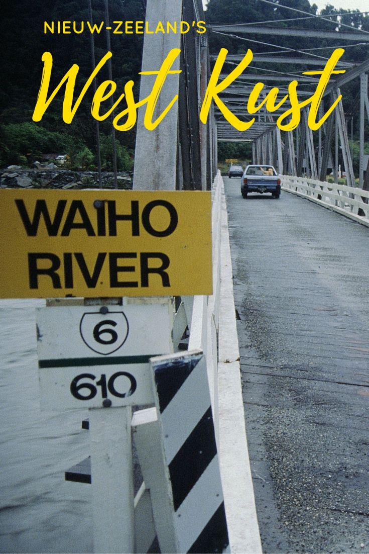 Geteisterd door regenbuien die van geen ophouden weten en tegengehouden door kolkende rivieren baan ik mij liftend een weg door Nieuw-Zeeland's westkust.