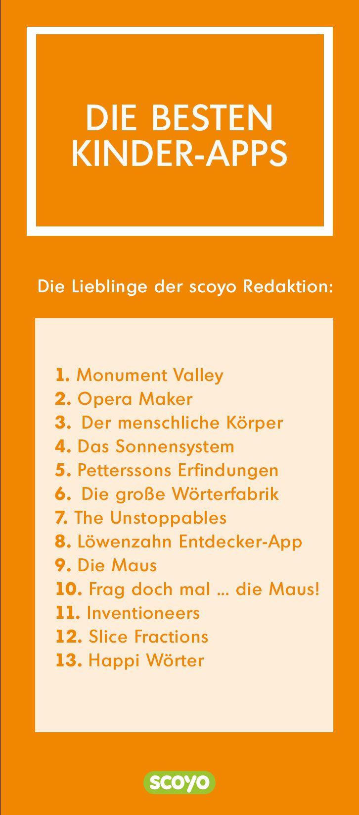 Nicht alle von Apps für Kinder sind tatsächlich für die Kleinen geeignet. Wir haben 13 Empfehlungen für euch und eure Kinder zusammengestellt.
