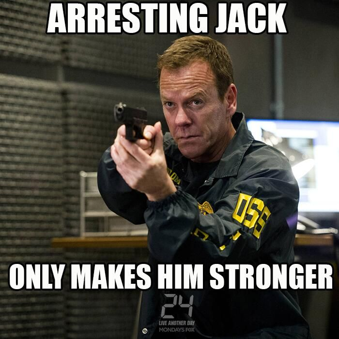 Jack Bauer Funny Quotes: 17 Best Images About 24/7 On Pinterest