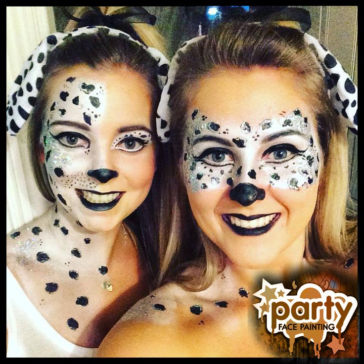 Gallery For gt Adult Dalmatian Face Painting
