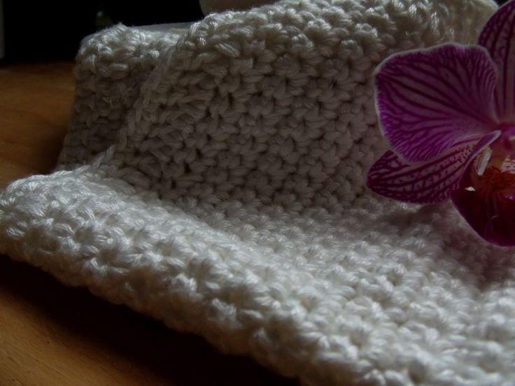 Crochet facecloths in bamboo.  #ecofriedly #zerowaste #organic #handmade #crochet