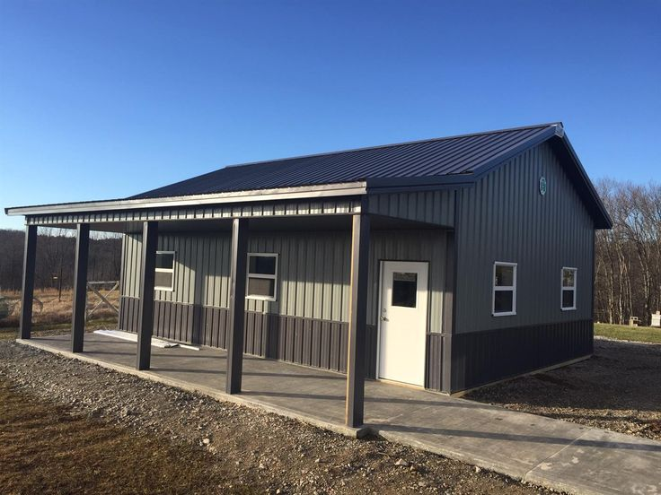 Best Single Project Grey Siding Cleary Buildings Building 400 x 300