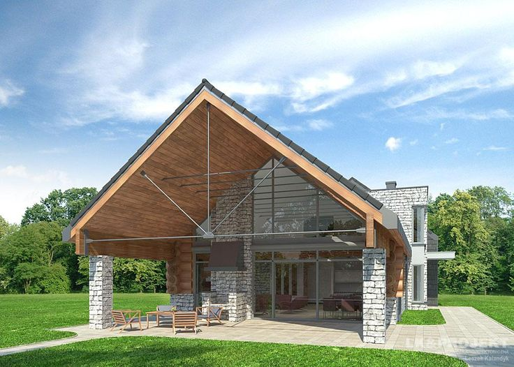 Projekty domów LK&Projekt LK&739 wizualizacja 1