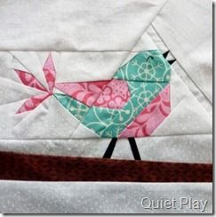 pájaro patchwork