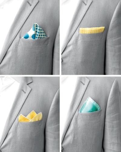pocket square variations