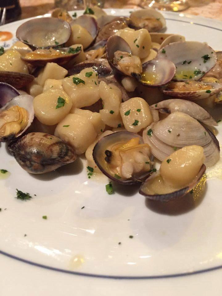 Gnocchi di patate alle Vongole Veraci