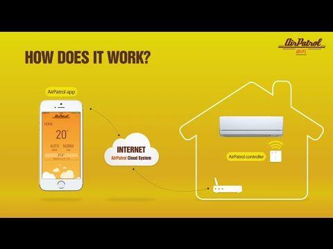 AirPatrol WiFi μονάδα απομακρυσμένου ελέγχου για κλιματιστικά   ΑΕΝΑΟΣ Α.Ε. - Θέρμανση - κλιματισμός - Θεσσαλονίκη