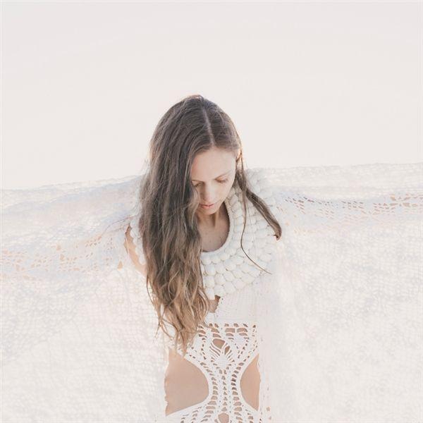 White Light Crochet Throw - Losari