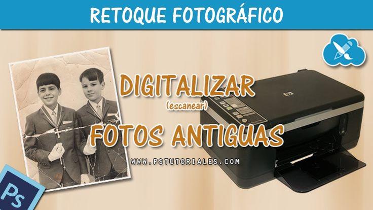 Como digitalizar o escanear fotos antiguas