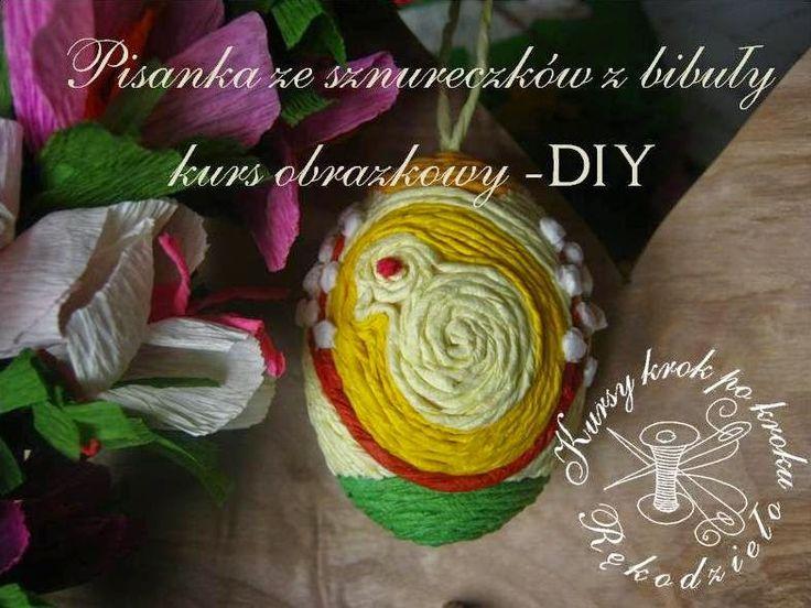 Free Pattern Craft! Pisania z bibuły - DIY, zrobisz sam. Wielkanoc