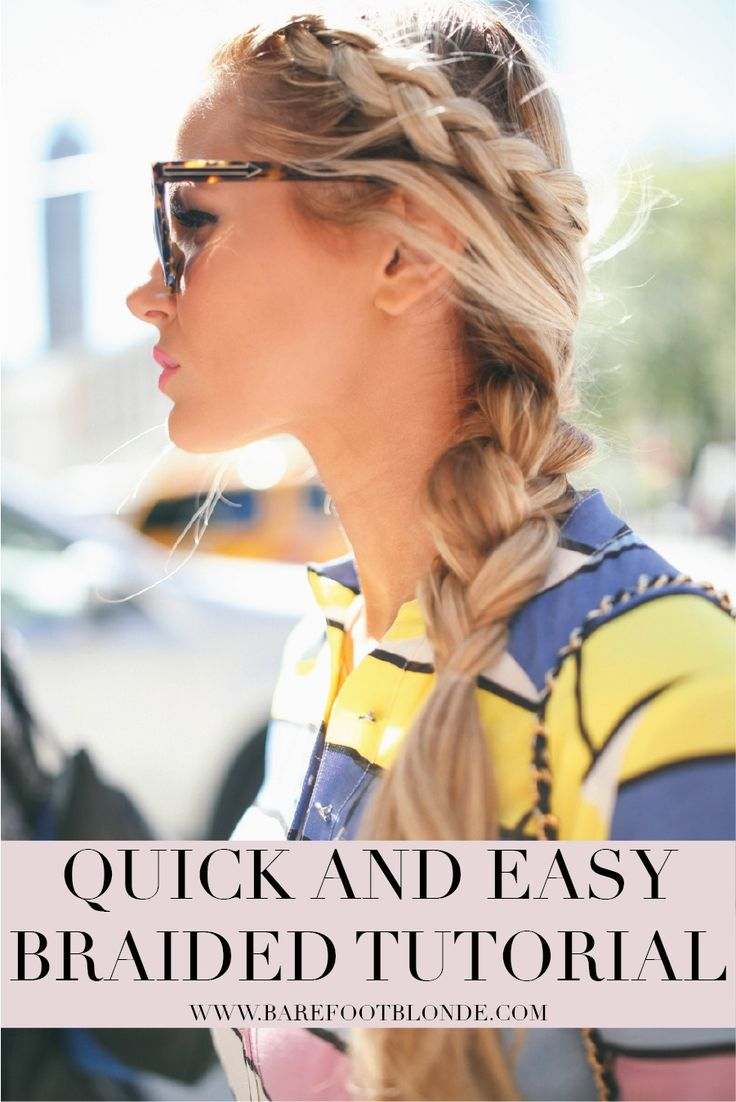 Quick And Easy Hair Tutorial  Perfect For Greasy Hair Or Times You Don't