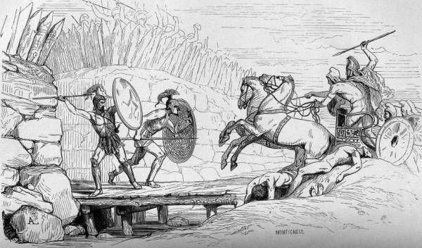 LES ACHEENS Dans les épopées homériques, le terme désigne l'ensemble des Grecs rassemblés devant Troie, dirigés par les rois Ménélas et Agamemnon. Les autres noms utilisés sont « Danéens » ou « Argiens ».