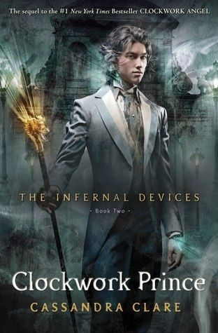 Clockwork Prince - Book Two. sequel to Clockwork Angel. It's a YA (Young Adult or teen) series that has enough for adult interest as well.