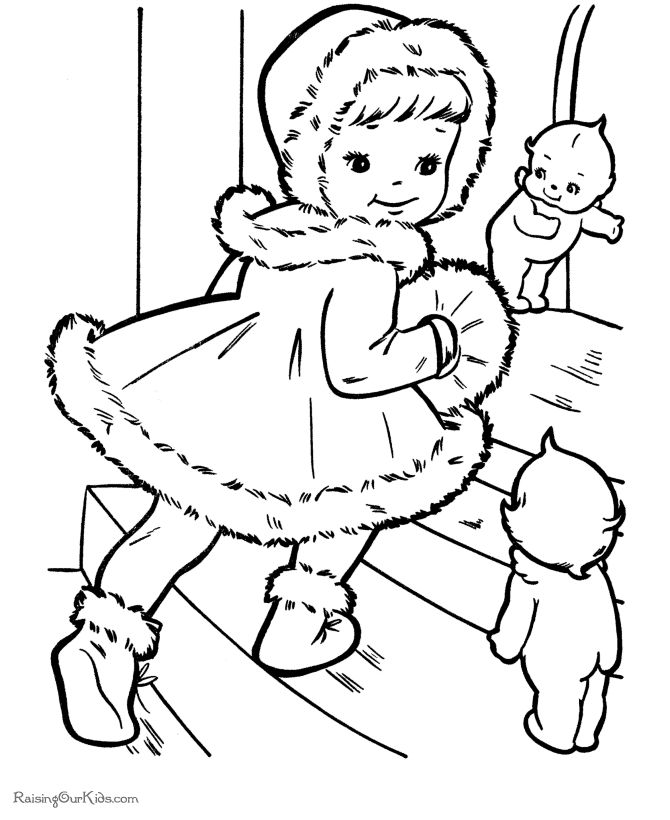 kids printable christmas coloring pages a christmas visit kids christmas coloring pages visiting christmas coloring pages for kids printable