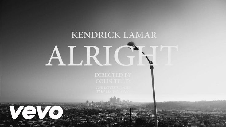 (Kendrick Lamar - Alright) I really enjoy watching this video. To me, it seems more of a short film.
