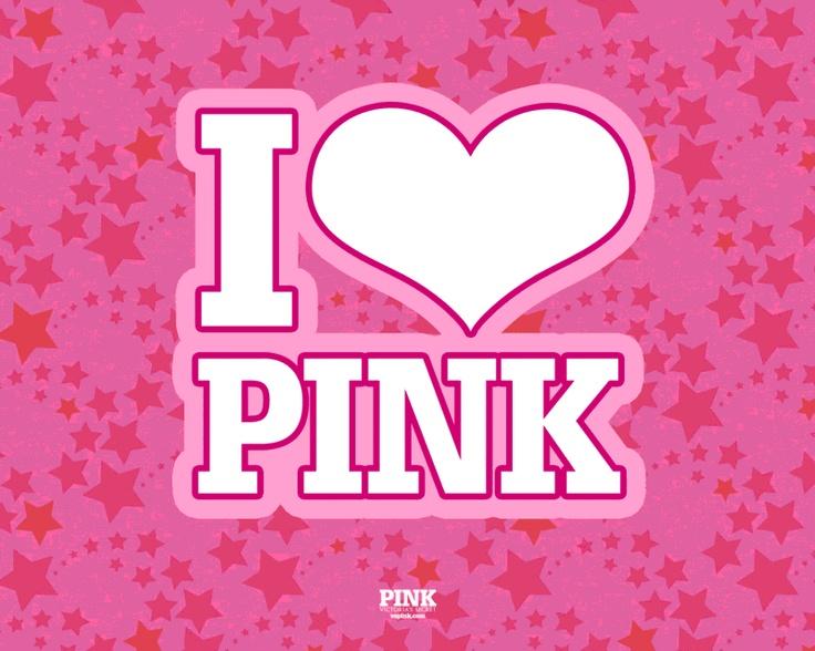 I Love Pink Victoria Secret