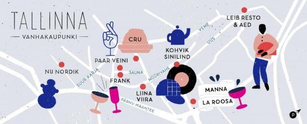 Tallinnan vanhankaupungin huiput   Mondo.fi