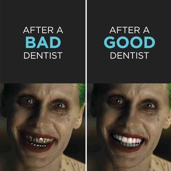Dentaltown - After a bad dentist. After a good dentist.