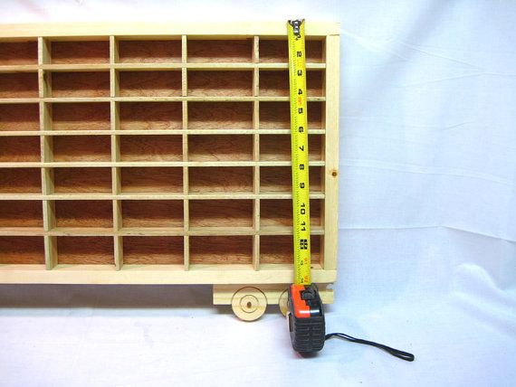 Hot Wheels Boys Wood Truck Display Case by RusticNickNacknStuff