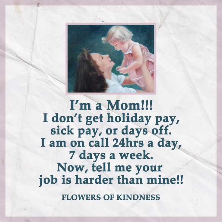I am a mom!!