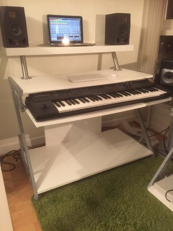19 best music studio desks images on pinterest desks studio desk and study desk. Black Bedroom Furniture Sets. Home Design Ideas