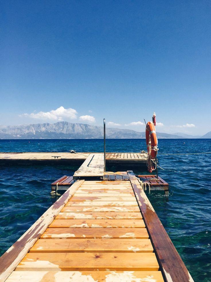 Private dock - Lefkas, Greece!