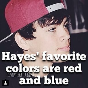 WHAT IS THIS ABOUT HAYES SMOKING SOMEONE EXPLAIN