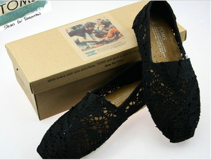 Toms Crochet Shoes Black Womens Classic : Toms Outlet Online,Cheap Toms shoes, Toms outlet store online,which provide best toms shoes online...