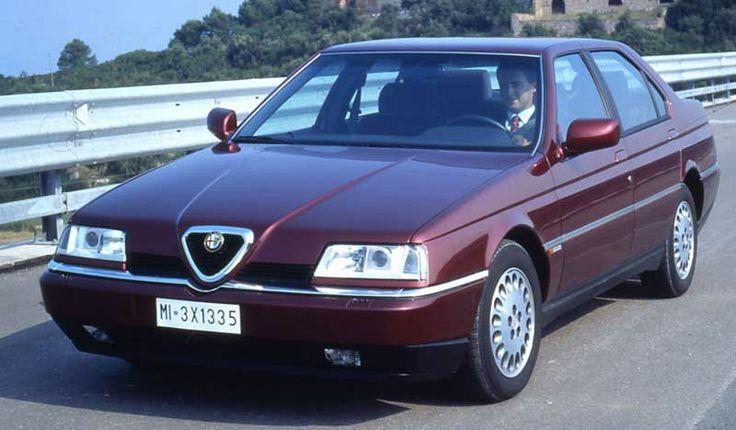 Onbetrouwbare Alfa Romeo 164 heeft zijn charme - http://www.driving-dutchman.com/onbetrouwbare-alfa-romeo-164-heeft-zijn-charme/