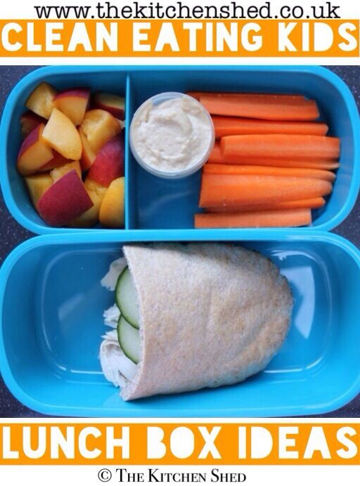 Clean Eating Kids Lunch Box Ideas 7 - great for packed lunches at work too!