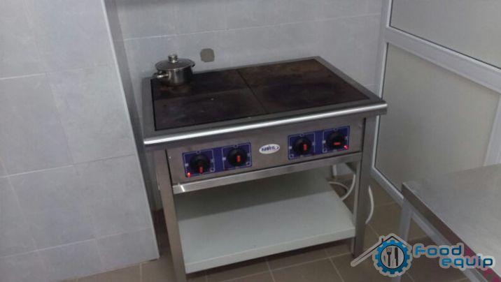 Электрическая плита промышленная