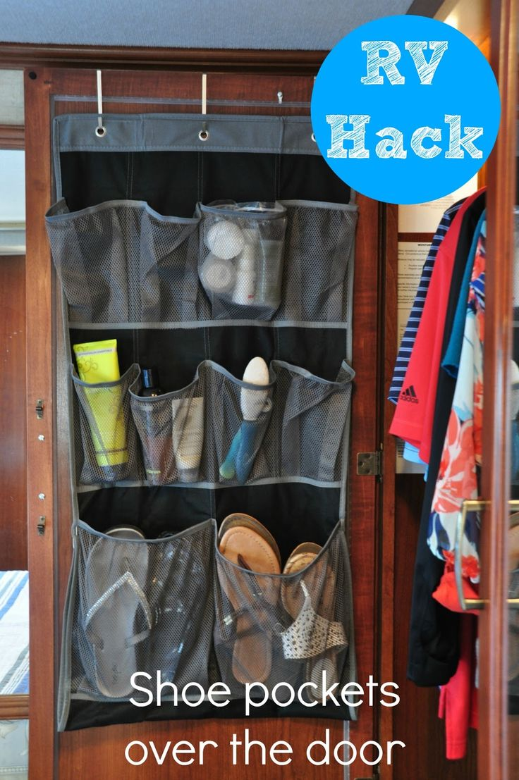 RV Organizing and Storage Hacks {Small Spaces} | Organizing Made Fun: RV Organizing and Storage Hacks {Small Spaces}