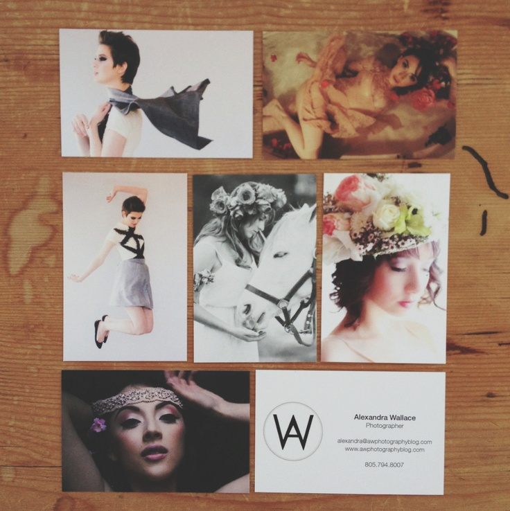 [a.w. photography]: New Businesscards for Spring!