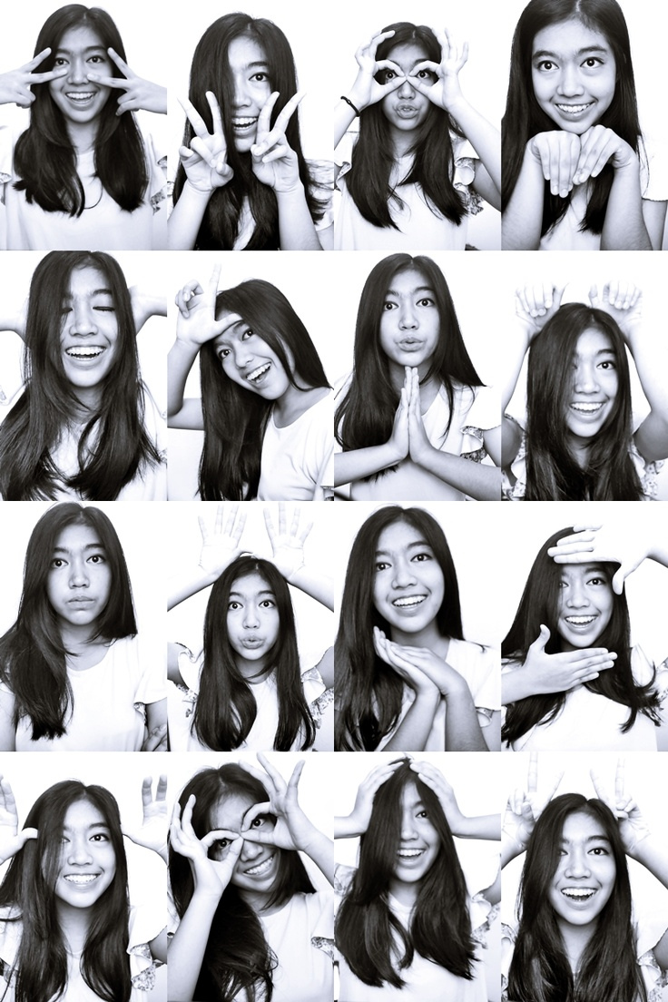 photobooth black white picture funny