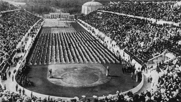 #HTE April 06 1896: First modern Olympic Games On April 6 1896 the Olympic Games a long-lost tradition of anc